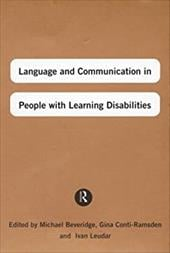 Language and Communication in People with Learning Disabilities - Beveridge, Michael / Conti-Ramsden, Gina / Beveridge, M.