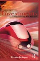 Long-Term Investments: Project Planning and Appraisal
