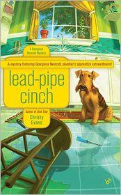 Lead-Pipe Cinch (Georgiana Neverall Series #2) - Christy Evans