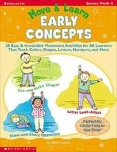 Move & Learn Early Concepts - Lipton, Beth