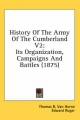 History of the Army of the Cumberland V2 - Thomas B Van Horne; Edward Ruger