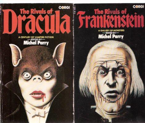 The Rivals of Dracula: A Century of Vampire Fiction  ---with The Rivals of Frankenstein:  A Gallery of Monsters   ---2 Volumes