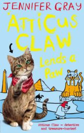 Atticus Claw - Lends a Paw - Jennifer Gray