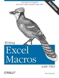 Writing Excel Macros with VBA - Steven Roman, PhD