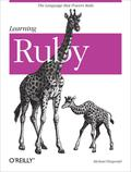 Learning Ruby - Michael Fitzgerald