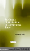 Stochastic Optimization in Continuous Time - Fwu-Ranq Chang