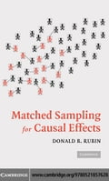 Matched Sampling for Causal Effects - Rubin, Donald B.