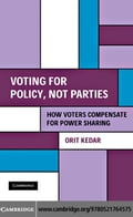 Voting for Policy, Not Parties - Kedar, Orit