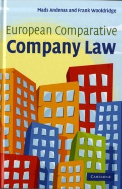 European Comparative Company Law (eBook, PDF) - Andenas, Mads; Wooldridge, Frank
