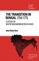 The Transition in Bengal, 1756 - 75 - Abdul Majed Khan