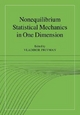 Nonequilibrium Statistical Mechanics in One Dimension - Vladimir Privman