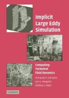 Implicit Large Eddy Simulation: Computing Turbulent Fluid Dynamics
