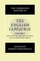 Cambridge History of the English Language - Robert W. Burchfield