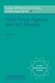 Finite Group Algebras and their Modules - P. Landrock