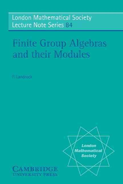 Finite Group Alegebras and their Modules