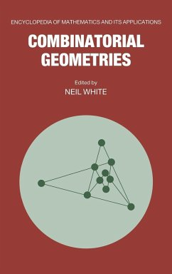 Combinatorial Geometries - White, Neil (ed.)
