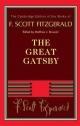 F. Scott Fitzgerald: The Great Gatsby - F. Scott Fitzgerald; Matthew J. Bruccoli