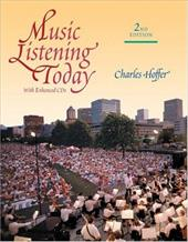 Music Listening Today, PC Version [With 2 CD] - Hoffer, Charles R.