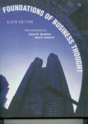Foundations of Business Thought>Custom< - Calvin M. Boardman