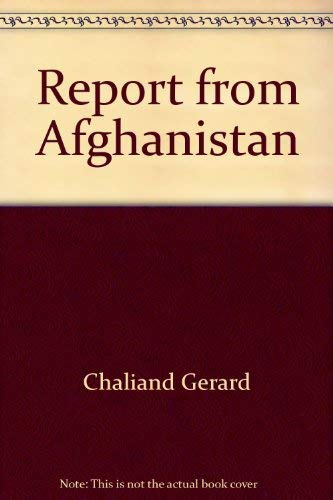 Report from Afghanistan