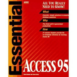 Essential Access 95 - Browne, Sams Development Group Et Balter