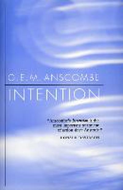 Intention - Gertrude E. M. Anscombe