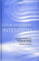 Intention - G. E. M. Anscombe
