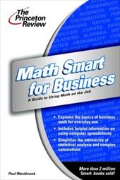 Math Smart for Business: Essentials of Managerial Finance - Westbrook, Paul / Dev, Rajiv