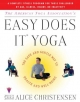 The American Yoga Associations Easy Does It Yoga - Alice Christensen