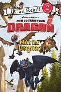 Meet the Dragons (Turtleback School & Library Binding Edition) (DreamWorks How to Train Your Dragon (Harperfestival))