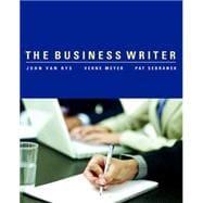 The Business Writer - Van Rys, John; Meyer, Verne; Sebranek, Patrick