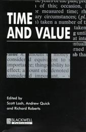 Time and Value - Lash, Scott / Quick, Andrew / Roberts, Richard