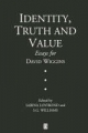 Identity, Truth and Value - Sabina Lovibond; S. G. Williams