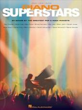 Piano Superstars: 24 Songs by the Greatest Pop and Rock Pianists - Hal Leonard Publishing Corporation