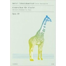 Schostakowitsch: Kinderalbum Fur Klavier/Children's Notebook for Piano, Opus 69