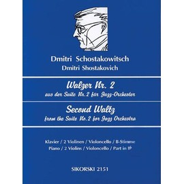 Schostakowitsch: Walzer Nr. 2/Second Waltz: Aus Der Suite Nr. 2 Fur Jazz-Orchester Fur 2-5 Instrumente/Second Waltz from the Suite No. 2 for Jazz Orch