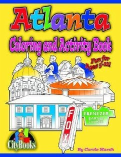 Atlanta Coloring & Activity Book - Marsh, Carole