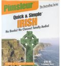 Pimsleur Irish Quick & Simple Course - Level 1 Lessons 1-8 CD - Pimsleur