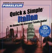 Italian I Q&s: Learn to Speak and Understand Italian with Pimsleur Language Programs