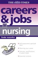 Careers and Jobs in Nursing
