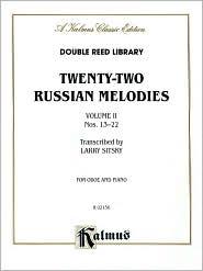 Twenty-two Russian Melodies, Vol 2: Nos. 13-22 - Larry Sitsky
