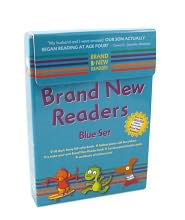 Brand New Readers Blue Set - Various