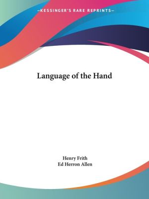Language of the Hand (1920)