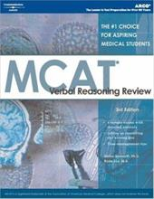 MCAT Verbal Reasoning Review, 5th Ed - Bosworth, Stefan / Arco / Arco Publishing