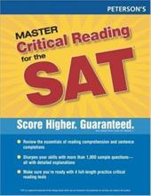 New SAT Critical Reading Wrkbook, 1st Ed - Rozakis, Laurie / Peterson's