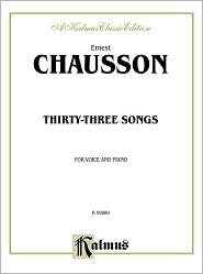 Thirty-Three Songs: French Language Edition