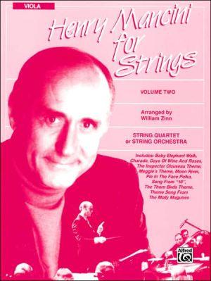 Henry Mancini for Strings, Vol 2: Viola