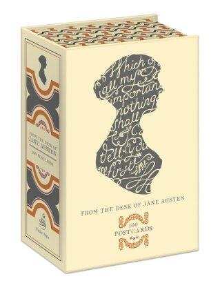 From The Desk Of Jane Austen, 100 Postcards - 100 Postcards, 25 Designs