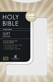 King James Gift & Award Bible - Thomas Nelson