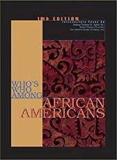 Who's Who Among African Americans - Gale Group